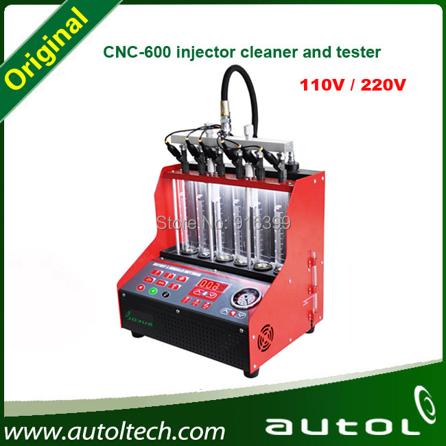 Car injector cleaner tool AUTOL CNC600 Same Launch CNC602A Maintenance and Cleaner One year warranty and technology support(China (Mainland))
