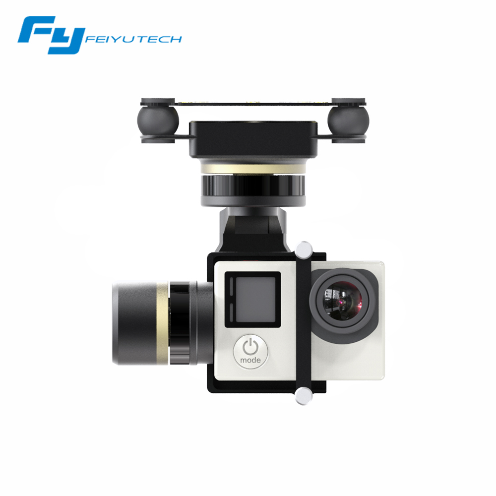 Original Feiyu MINI 3D Pro gimbal for aircrafts helicopters font b drones b font surport GoPro4