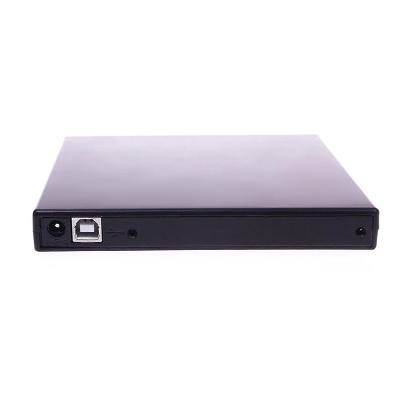 ONLY BOX Slim USB 2.0 External SATA DVD CD RW Disc Drive Enclosure Case for Notebook PC #52593(China (Mainland))