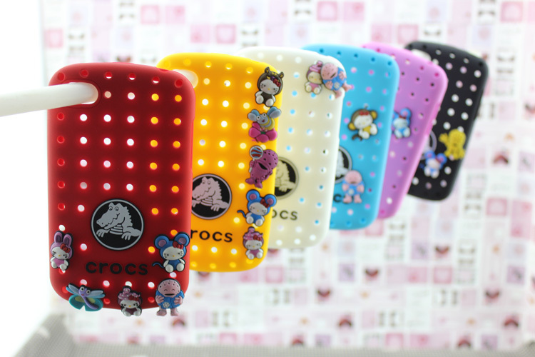 Free shipping + 5pcs/lot For Blackberry Q10 case Hello Kitty doll mobile phone case of silicone cover crocodile(China (Mainland))