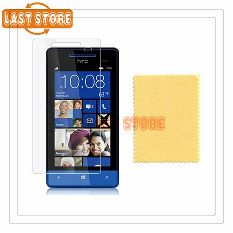 100pcs/lot Ultra Clear Screen Protector Cover Guard Display Protective Film For HTC Windows Phone 8S A620E With Retail Package(China (Mainland))