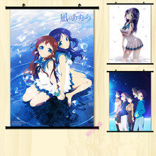 (60x85cm)From calm tomorrow Anime Canvas Wall Art Picture Home Decor Room Canvas Print Painting Cartoon Canvas Art