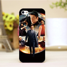 PZ0004-44-5 For Kingsman Design Customized cellphone transparent cover cases for iphone 4 5 5c 5s 6 6plus Hard Shell