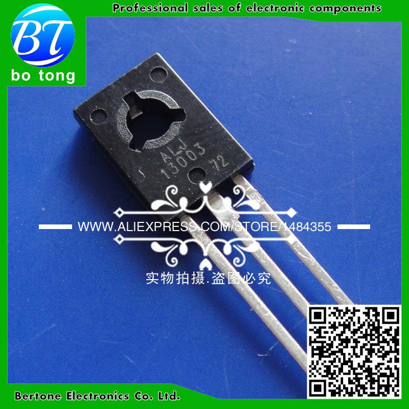Гаджет  50PCS MJE13003 E13003-2 E13003 13003 TO-126 Transistor None Электронные компоненты и материалы