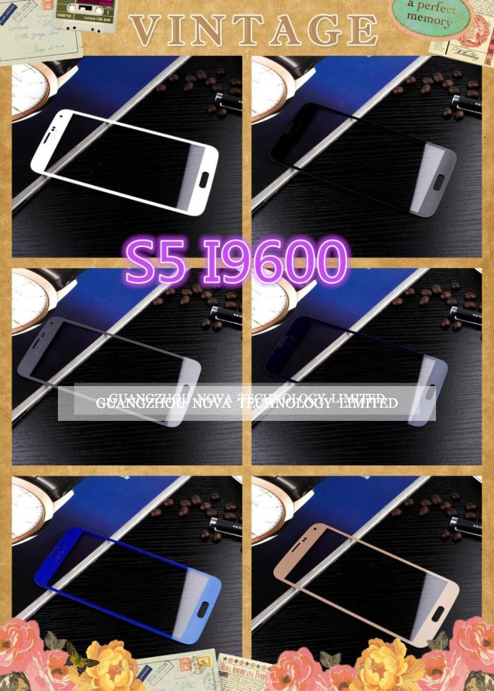 Здесь можно купить  White/Black/Blue.. Screen Lens for Samsung Galaxy S5 G900 i9600 Digitizer Glass Lens ; DHL Free 50pcs/lot  Телефоны и Телекоммуникации