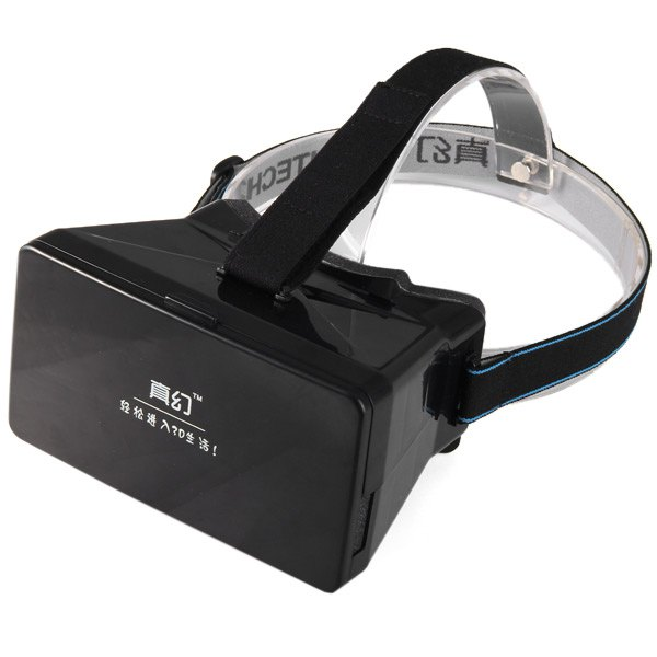 """Virtual Reality VR 3D Polarized Glasses Movies Games Google Cardboard With Resin Lens For 3.5 to 5"""" Smartphone Mobile Phone(China (Mainland))"""