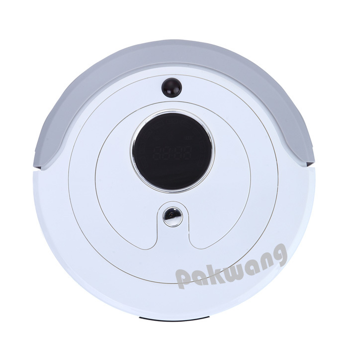 Robot Automatic Vacuum Cleaner, Timer Set,Auto recharged,Remote Controller,low noise,home robot(China (Mainland))