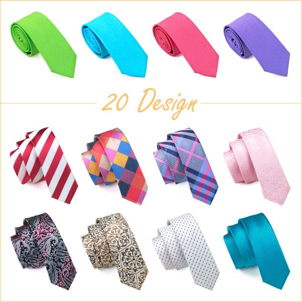 2016 Mens Slim Ties 20 Style Silk Jacquard Skinny Ties for Business Wedding Party Suit Jacquard Gravatas Woven Ties For Men(China (Mainland))