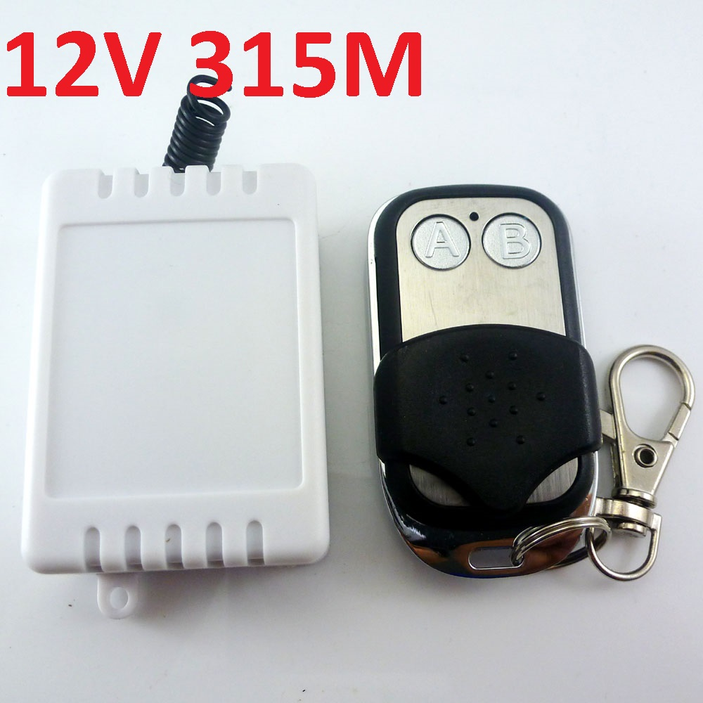 315M DC 12V 1-5000S adjustable delay timer Wireless Relay Remote Switch<br><br>Aliexpress