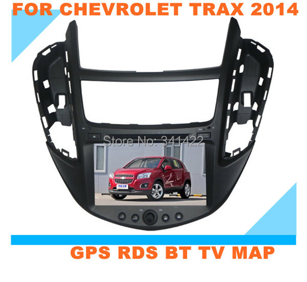 BUY 8 INCH Car multimedia system for chevrolet trax 2014 with TFT TOUCH SCREEN GPS RDS PIP BLUETOOTH ATV SWC CE 6.0 FREE MAP(China (Mainland))
