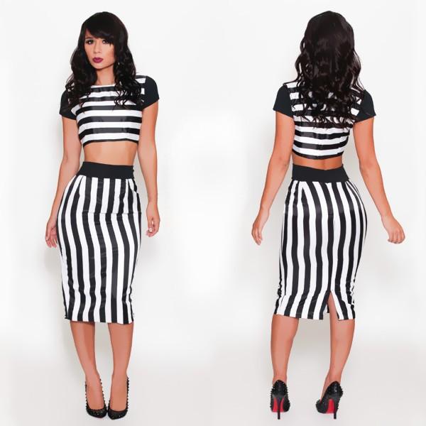 Zebra Striped Prom Dresses 75