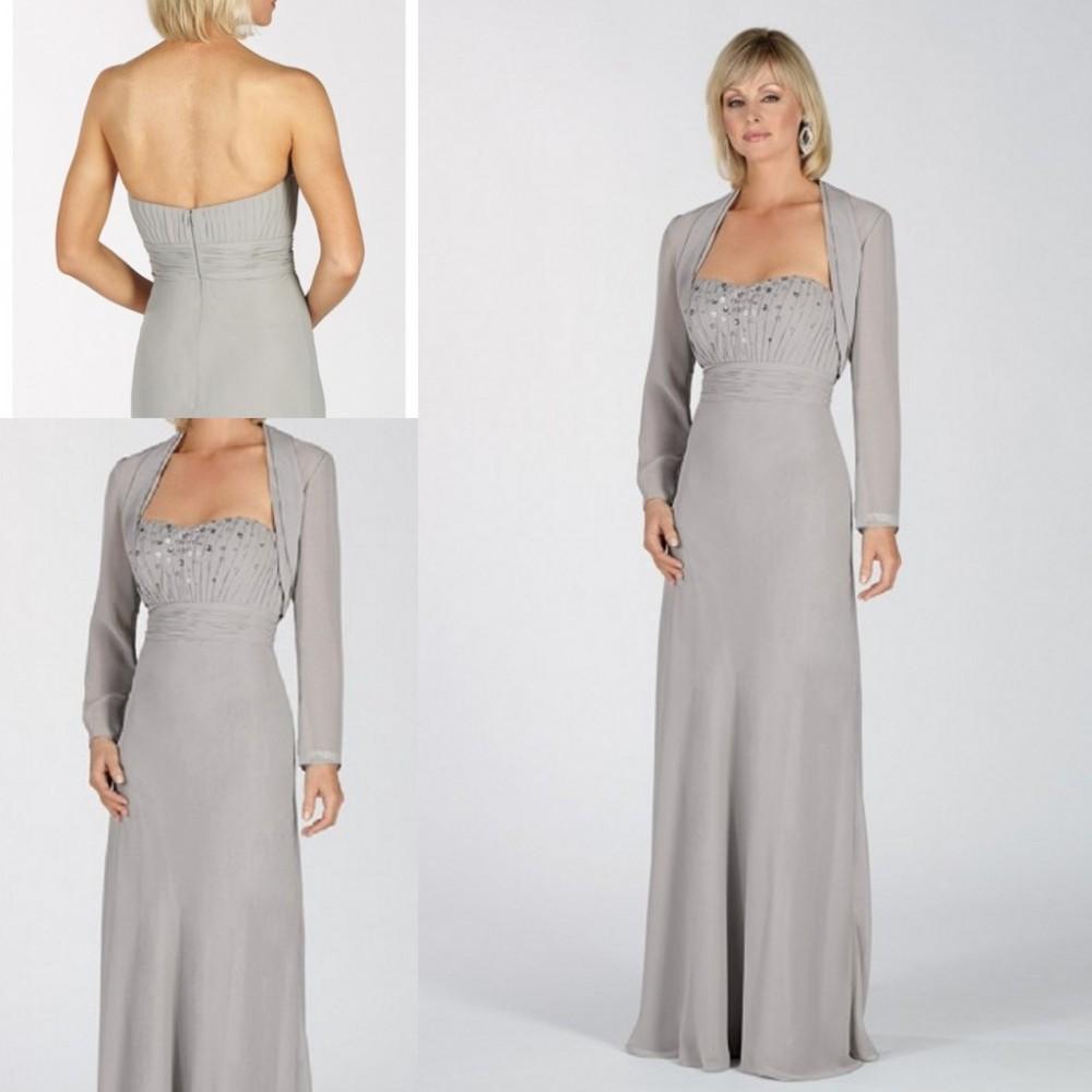 Evening dresses with bolero jackets