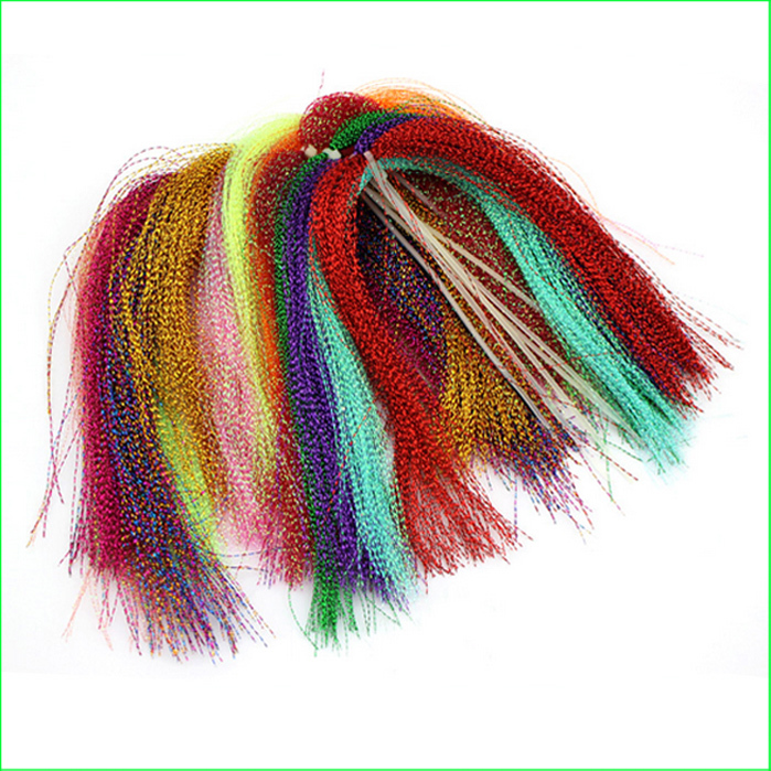 Ft01 10 colors 15 bags set fly tying fly fishing feather for Tying a fishing lure