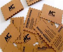 Уникальный дизайн пользовательского специальная форма визитная карточка матовый 300gsm специальная бумага цветной печать двойные стороны визитная карточка а4