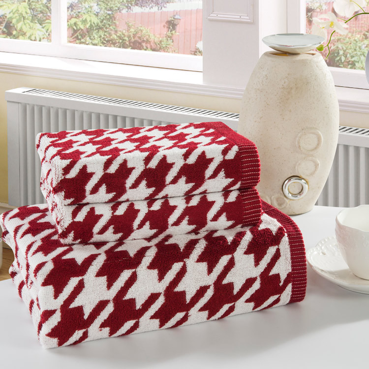 Towel set Bamboo fiber face towels bath towel beach hand adults home bathroom facecloth Leaf gift - Paris' Elf store