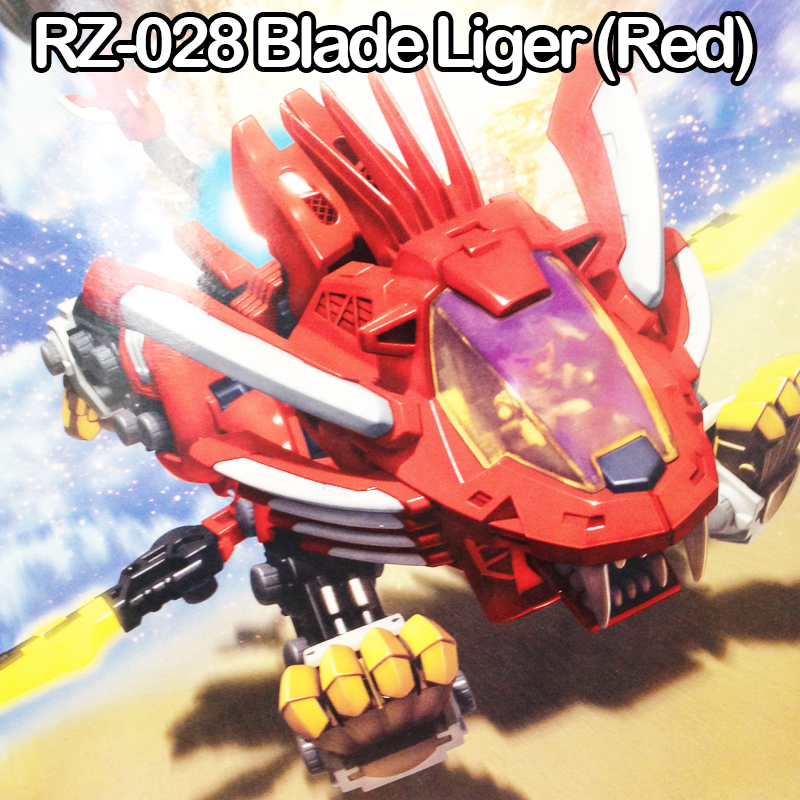 Good ZOIDS Assembled Model Toys RZ-028 Red Blade Liger Zoids Plastic Model Kit By STK No Need Russian Language Easy Assembled<br><br>Aliexpress