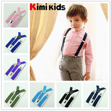 2.5cm 2016 new High Quality  Boys and Girl Clip-on Elastic  Braces  Kids Baby Suspenders  Children Accessories(China (Mainland))