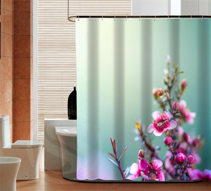 Online kopen wholesale perzik douchegordijn uit china perzik douchegordijn groothandel - Mode badkamer ...
