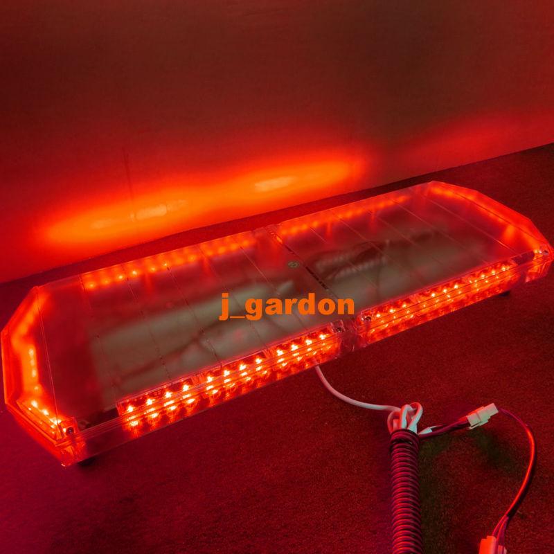 "12V -24V 35.5""72 LED Long Row Car Light Emergency Warning Light Wrecker Beacon Flashing Recovery LightBar Strobe Red LightBar(China (Mainland))"