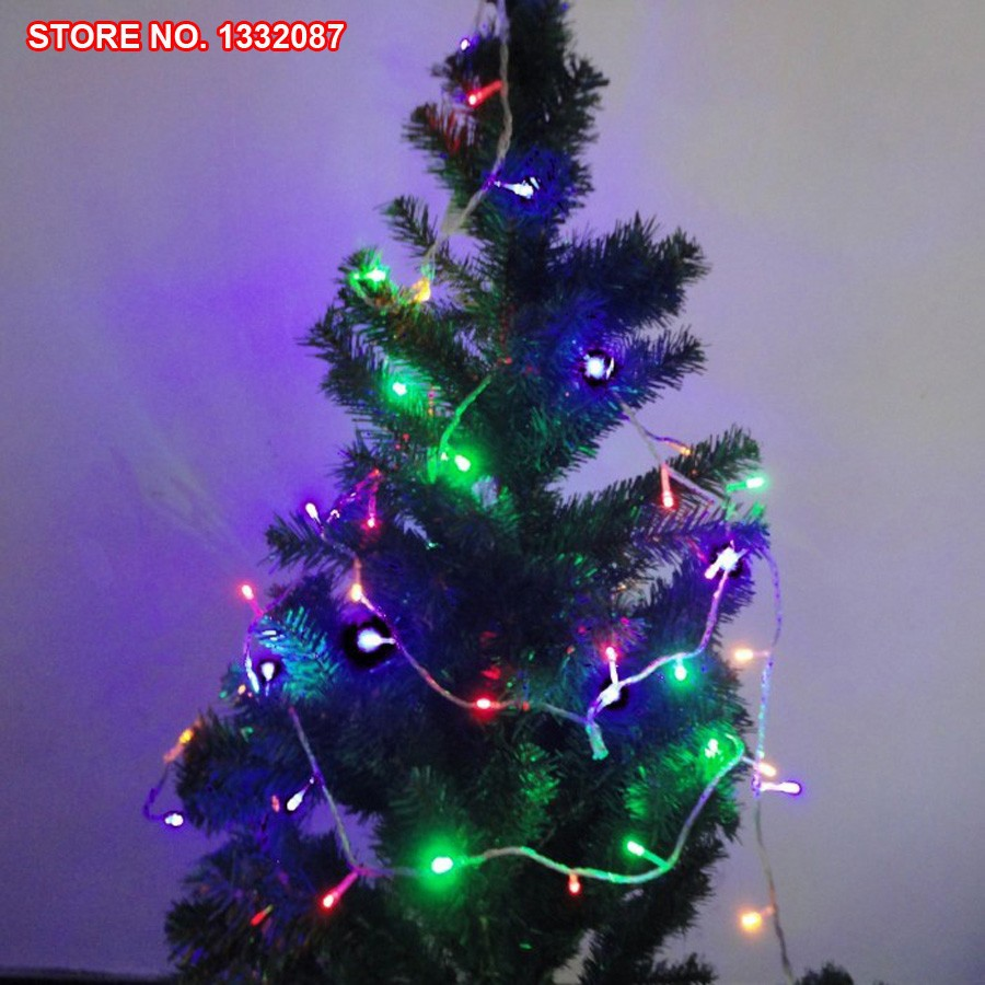 9m 72 Lights Free Shipping Retail Colorfur LED String Lights Home Garden Festive Party Christmas Decoration Supplies Cards(China (Mainland))