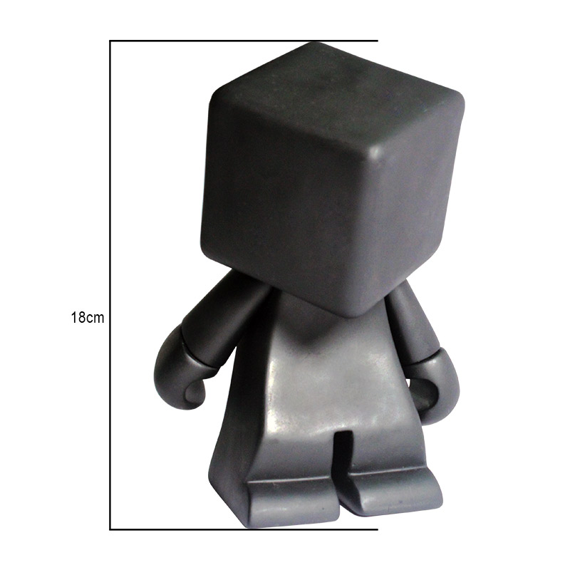 2016 Hot Toys Action Figures PVC Dolls Gift for Children Square Head Dunny Munny Model Toys Best Wholesale(China (Mainland))