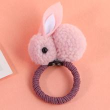 Novos Animais Bonitos Estilo Coelho Faixas de Cabelo Sentiu Pelúcia Tridimensional Orelhas de Coelho Headband Para Crianças Meninas Acessórios Para o Cabelo(China)