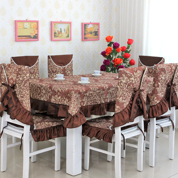 Table cloth rectangular toalha de mesa retangular manteles para mesa rectangulares mantelerias dining chair cover jl001(China (Mainland))