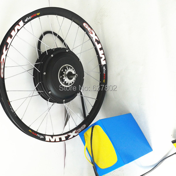 "100kph speed, 20""24""26"" 5000w ebike conversion kit 5kw electric bike conversion kit with 72v 26ah panasonic battery pack(China (Mainland))"