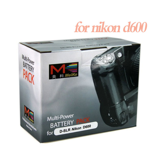 Meike MK-D600, Battery Grip MK-D600 For Nikon D600 DSLR Camera EN-EL15 MB-D14 +fee shipping by hk post mail +tracking no.<br><br>Aliexpress