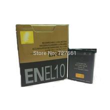 Rechargeble литиевая батарея EN-EL10 ENEL10 ENEL10 камеры аккумулятор для Nikon COOLPIX S230 S3000 S4000 S500 S510 S5100