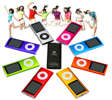 50pc/lot Hot popular professional NEW 9 COLORS 32GB FM VIDEO 4TH GEN MP3 4 PLAYER Free shipping wholesale & dropshipping(China (Mainland))