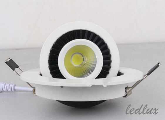 New Dimmable Recessed LED Downlight COB 15W Dimming LED Spot Light LED Ceiling Lamp AC 110V 220V Free Shipping(China (Mainland))