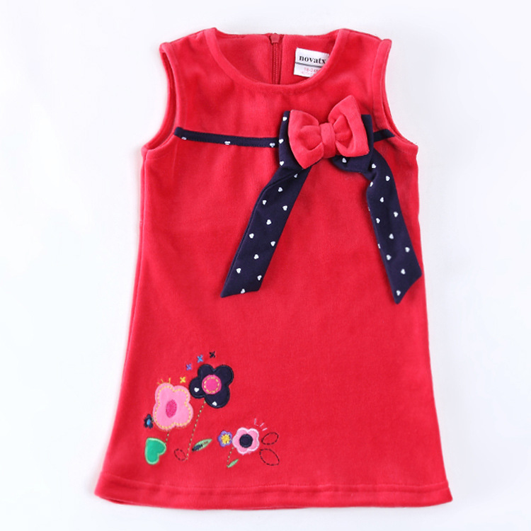 Kids Designer Clothes Cheap embroidery flowers children