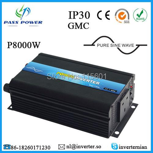 One Year Warranty, 8000w Soft Start Customizable Solar Inverter for Motor Home(China (Mainland))