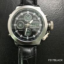 Relojes de marca BOAMIGO relojes deportivos para hombres militares cronógrafo de fecha automática reloj de pulsera de cuarzo Digital de acero dorado reloj Masculino(China)