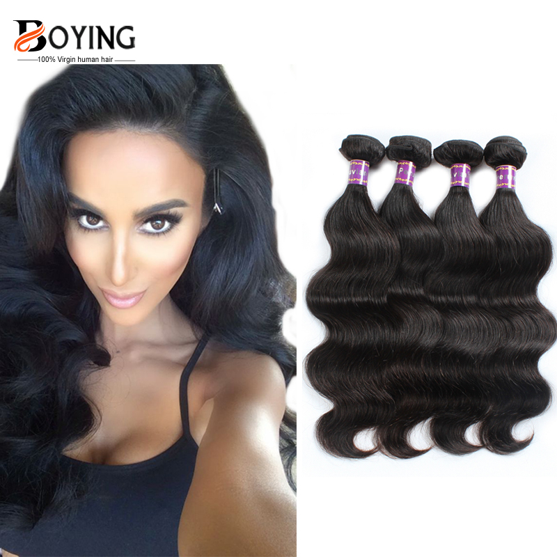 product Peerless Virgin Hair Peruvian Body Wave 4 Bundles Peruvin Virgin Body Weave Hair 7A Unprocessed Virgin Peruvian Hair Bundles