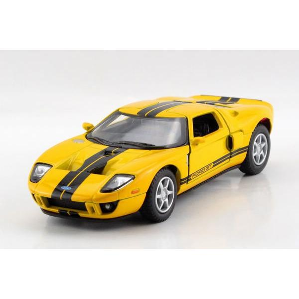 Children Kids Kinsmart 2006 Ford GT Model Car 1:36 KT5092 5inch Diecast Metal Alloy Cars Toy Pull Back Present Gift(China (Mainland))