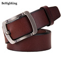 New Men belts Cow genuine leather Luxury strap High quality brand belt for man Fashion pin