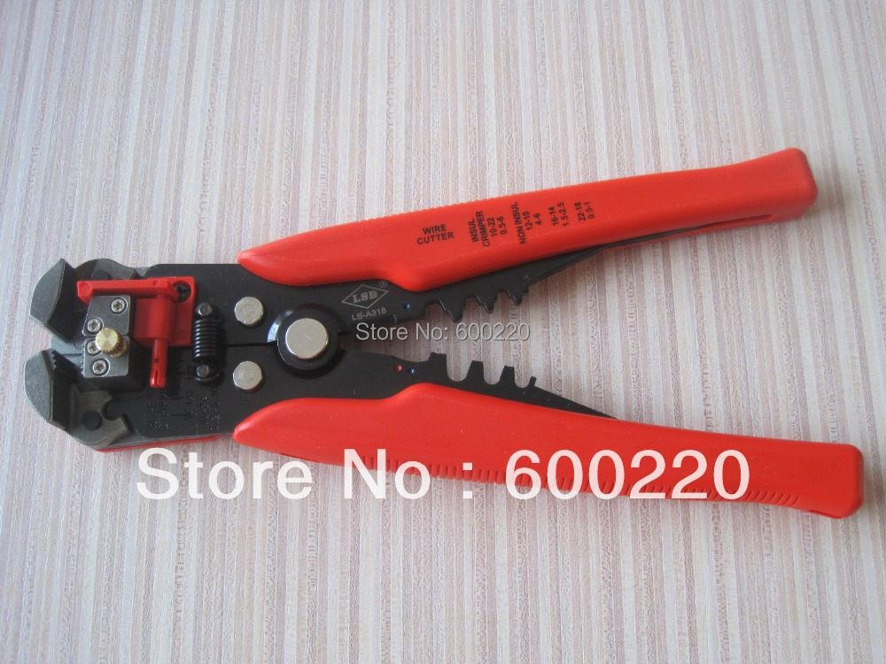 LS-A318 Multi-function automatic cable stripper wire cutting tool<br><br>Aliexpress