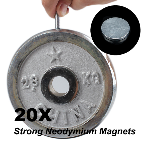 High Quality 20 Pcs Rare-Earth Neodymium Magnets For DIY 8mm x 1mm High Quality(China (Mainland))