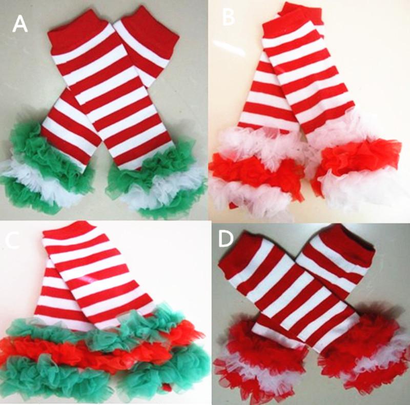 20pairs lot baby christmas leg warmer baby xmas ruffle leggings baby