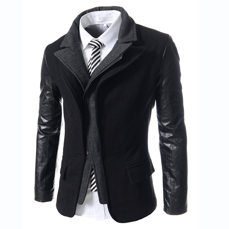 2016 Famous Brand Men Slim Fit Suits Plus Size Fashion Casual Men Blazer Brand Jacket Outwear European and American Style S291