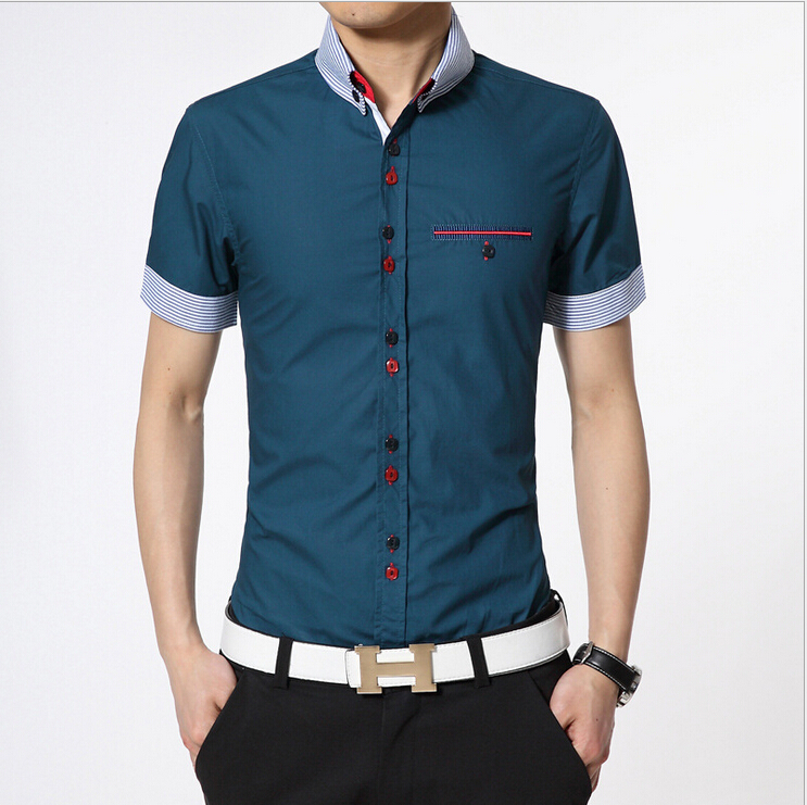 Cheap button up shirts for men custom shirt for Button up mens shirt