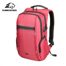 """Kingsons 15""""17"""" Laptop Backpack External USB Charge Computer Backpacks Anti-theft Waterproof Bags for Men Women(China)"""