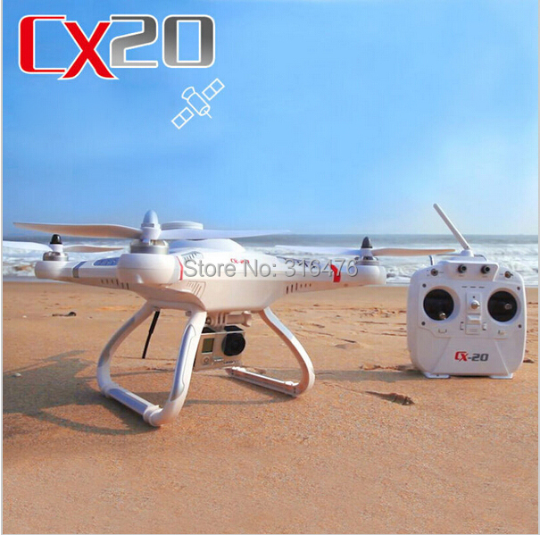 Cheerson CX-20 CX20 CX 20 2.4GHz RC 4-Axis Quadcopter rc helicopter Drone Auto-Pathfinder Aircraft FPV RTF & GPS big fly shark(China (Mainland))