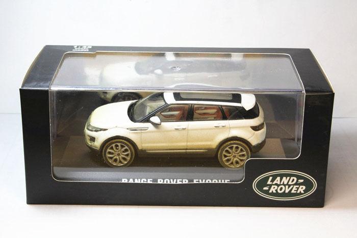 1:43 Range Rover Evoque white 2011 especial Die Cast Model Car