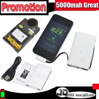 QP5000 Real 5000mah Portable USB Power Station Accumulator For Smart Celular Phone Perfect Backup Extend Battery (Free Shipment)