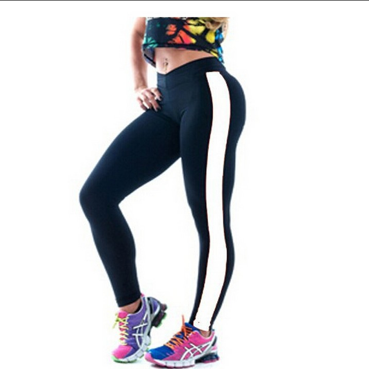 Hot New Winter Sports Fitness  Women Warm Leggings Casual Cotton High Waist Leather Leggings Patchwork Female Pants Plus Size