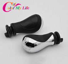 Real Cambio Gear Head Shift Knob Handball Case for Peugeot 206 307 Citroen Elysee C-triumph C-quatre Mt Modified