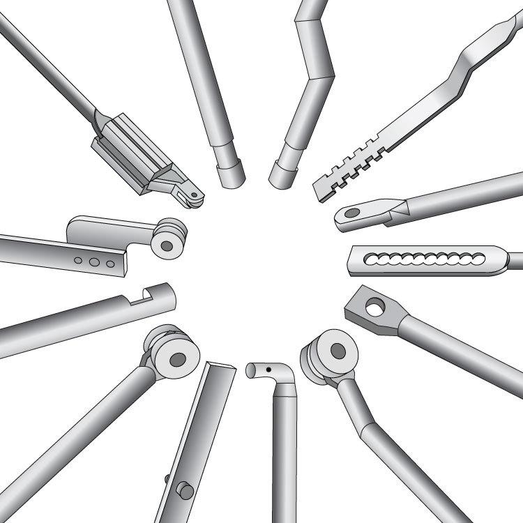 [] manufacturers custom-made non-standard GGD lock lock rod Rittal accessory belt wheel connecting rod length of various custom(China (Mainland))
